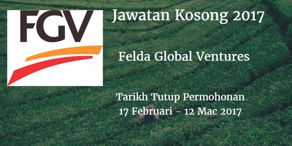 Jawatan Kosong FGV 17 Februari -12 Mac 2017