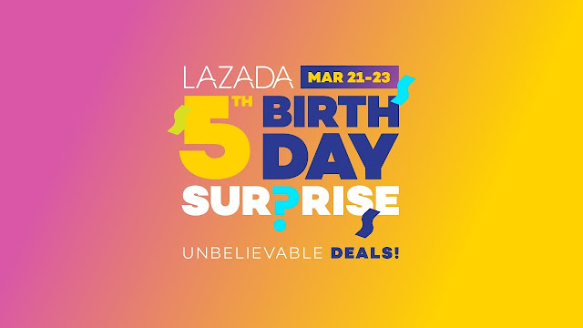 5th Lazada Anniversary Birthday Is Awesome! Happy Birthday