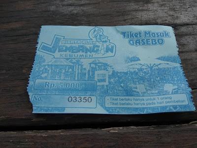 tiket masuk gazebo jembangan wisata alam