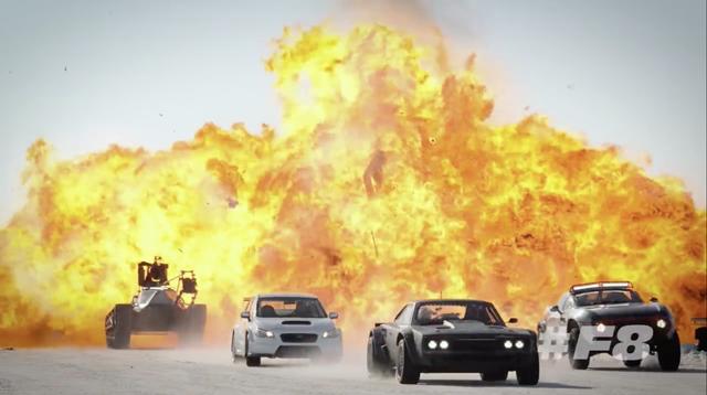 Vídeo desde el set de rodaje de 'Fast 8'