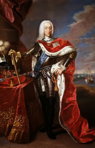 Christian VI of Denmark by Johann Salomon Wahl