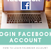 Want to Login My Facebook Account