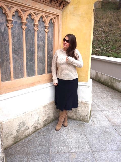Braune Stiefel Kombinieren Good Herbst Fashion Overknees With