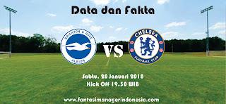 Data dan Fakta Fantasy Premier League Brighton vs Chelsea Fantasi Manager Indonesia