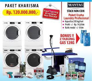 PAKET-KHARISMA Peluang Usaha Laundry di Jakarta