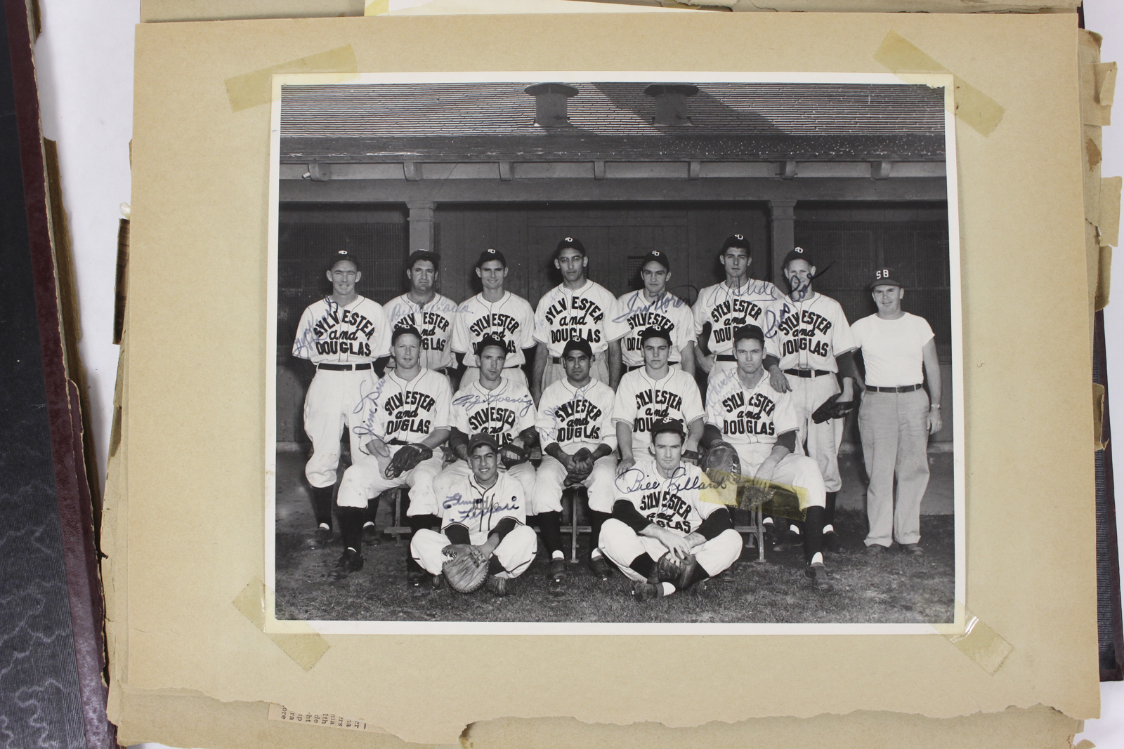 How to scrapbook newspaper clippings - There Is Also Another Team Photo Of The Santa Barbara Dodgers Probably From 1948 And Several Newspaper Clippings