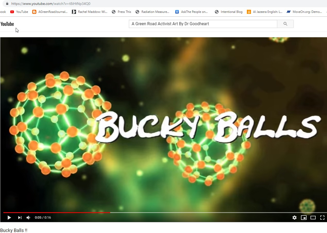 Fukushima Nano Bucky Ball Hot Particles Filled With Uranium