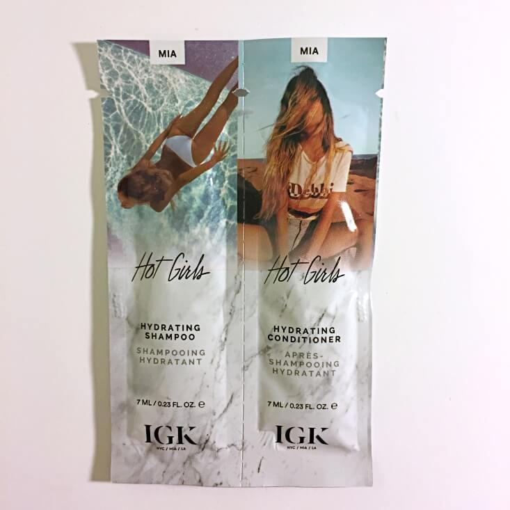 IGK Hot Girls Shampoo and Conditioner