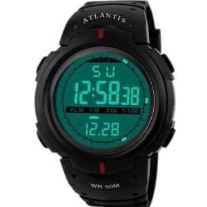 Relógio Digital Running - Preto