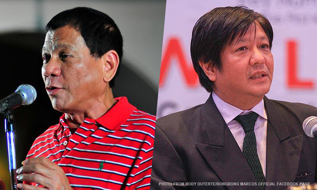 Duterte, Marcos leads South Cotabato News online poll