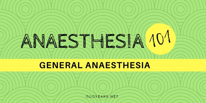 Public Awareness: General Anaesthesia