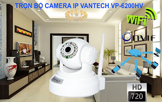 CAMERA IP WIFI VANTECH VT- 6200HV