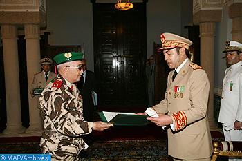 الرسالة التي تم منعها من الوصول الى القائد الاعلى ورئيس اركان الحرب العامة الملك محمد السادس