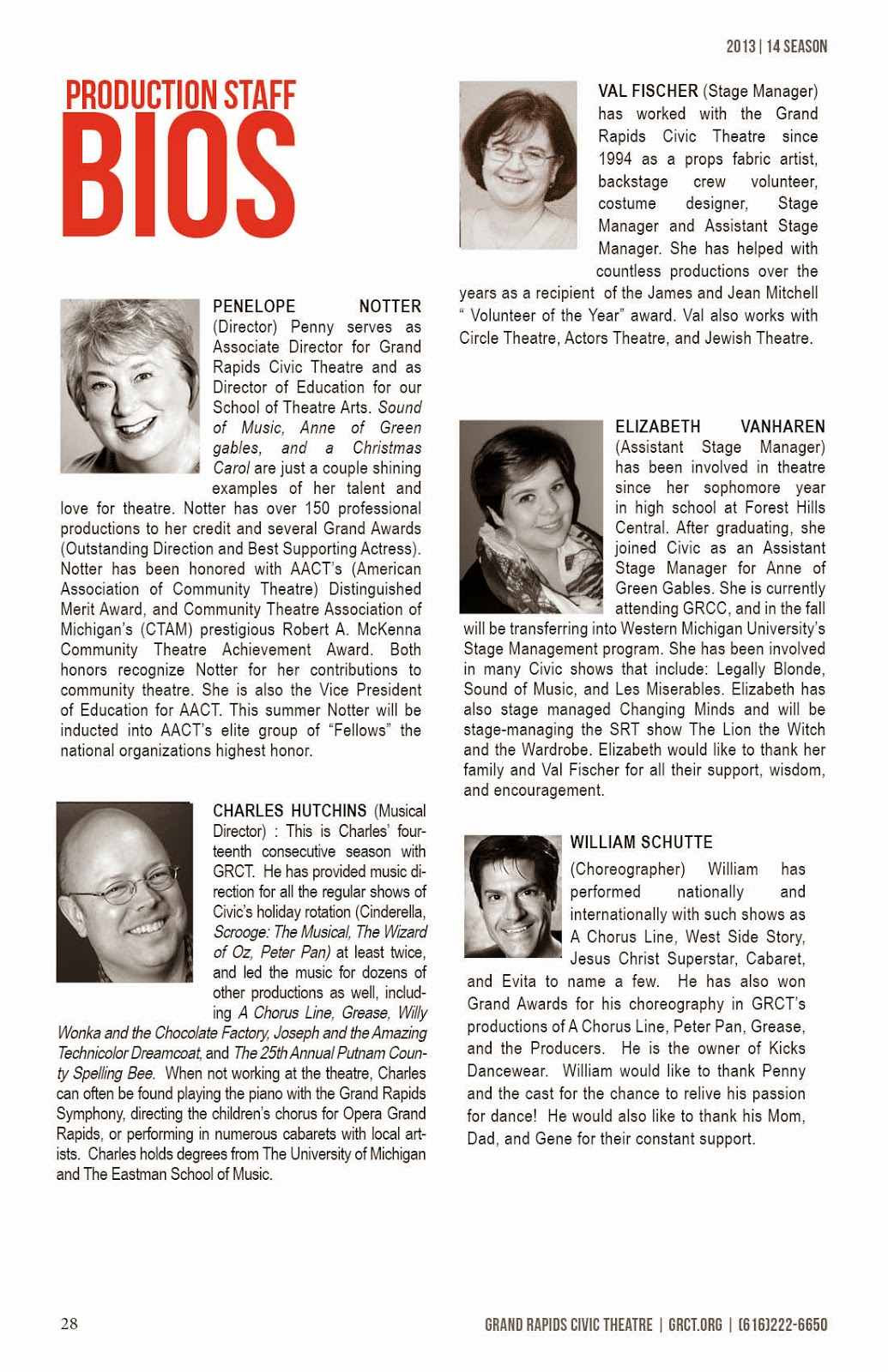 9 TO 5 THE MUSICAL Cast Bios