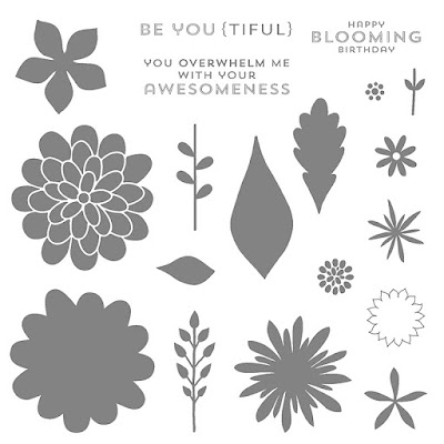 Flower Patch, Photopolymer Stamp Set, Stampin' Up!