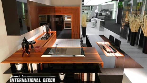 Modern Japanese Kitchen Designs
