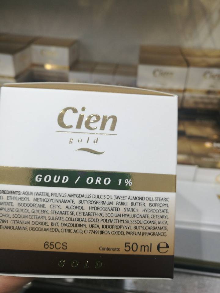 INCI VERDE BLOG: Novità da LIDL: E' arrivata la CIEN GOLD!!
