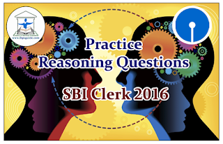 SBI Clerk Prelims 2016- Practice Reasoning Questions (Coding-Decoding)