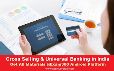 Cross Selling and Universal Banking in India