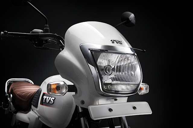New TVS Radeon Headlight with drl
