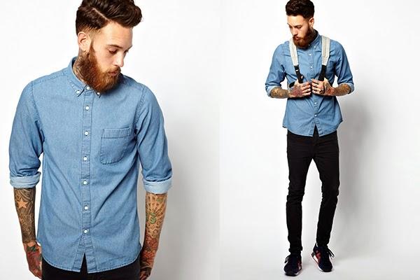 Macho Moda - Blog de Moda Masculina: Camisa Jeans