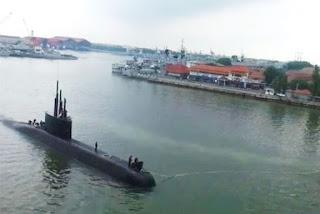 Uji Coba Kapal Selam Alugoro-405