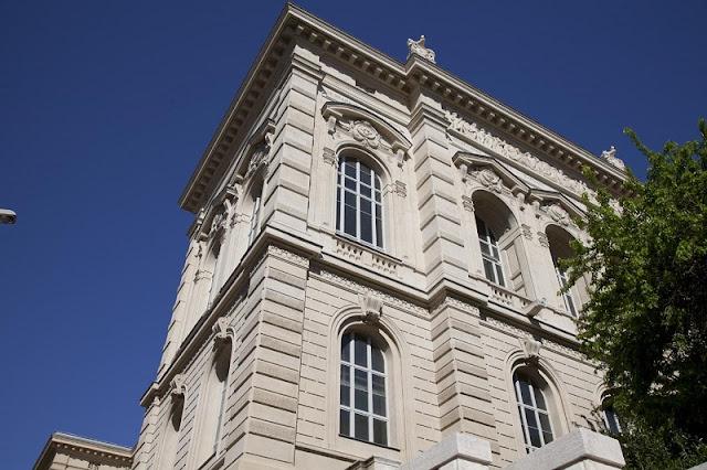 Vista do Museu de Belas Artes de Marselha
