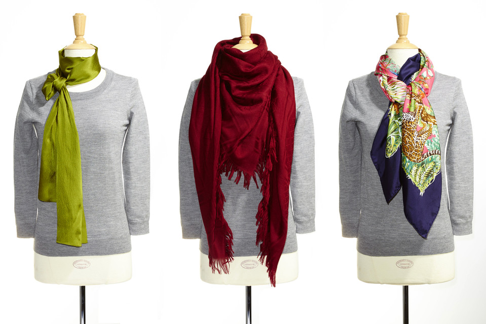How To Tie A Scarf Around Your Neck Different Styles For