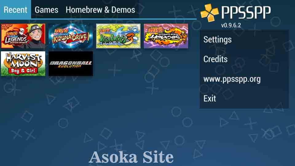 Setting Ppsspp Gold Basedroid