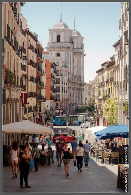 Vista de la Real Colegiata de San Isidro Madrid