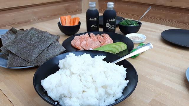 Kinderkueche - Sushi Party für die ganze Familie