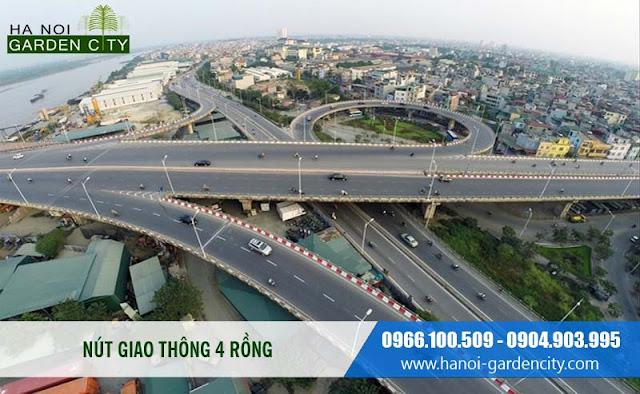 Nút giao thông quốc lộ 5B mới