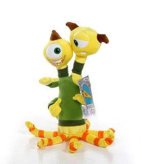 disney store monsters university plush toys terry terri