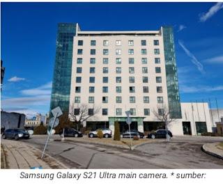 Hasil foto kamera utama Samsung galaxy S21 ultra