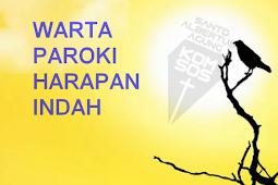 Warta Paroki Harapan Indah No 69 Tanggal 28 - 29 April 2018