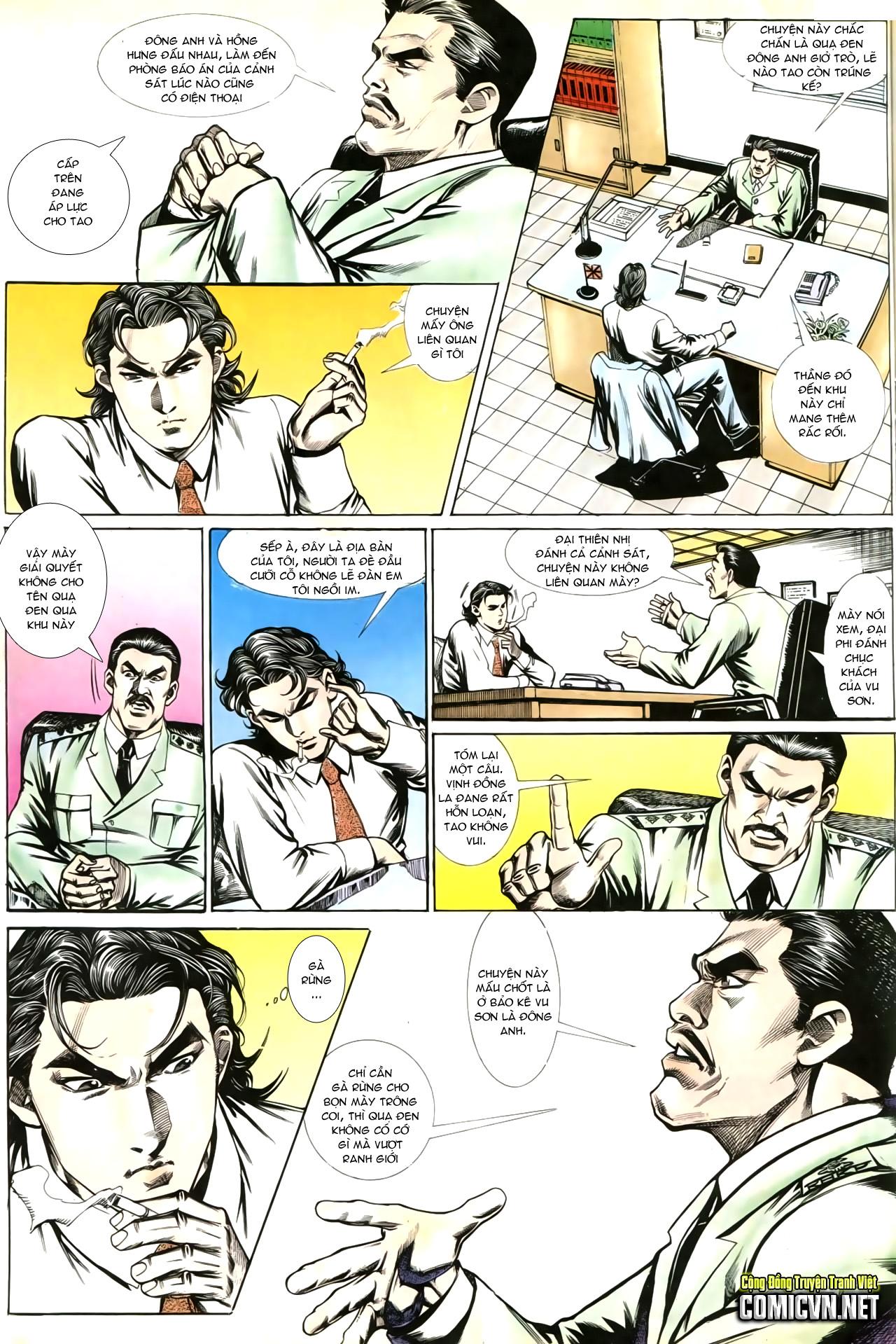 Người Trong Giang Hồ chapter 202: đối đầu trang 11