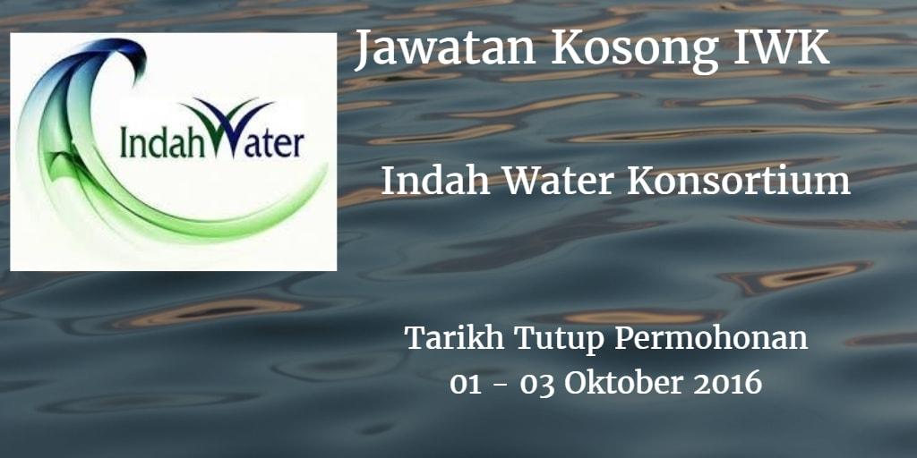 Jawatan Kosong IWK 01 - 03 Oktober 2016