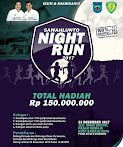 Sawahlunto Night Run • 2017