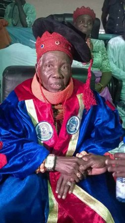 Meet The 100-Year-Old Mornach Conferred An Honorary Doctorate Degree