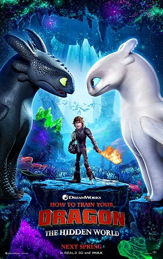 How to Train Your Dragon 3 (2019) English 750MB HDCAM 720p