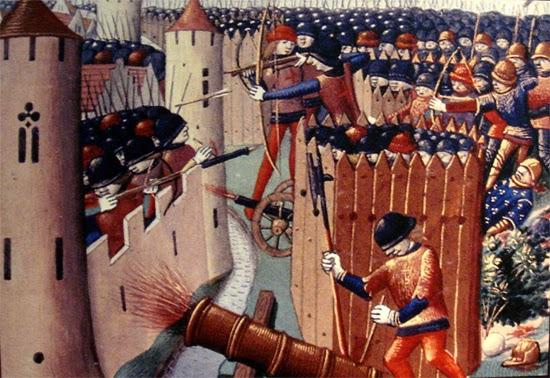 Castelos defasados na Europa depois da artilharia pesada