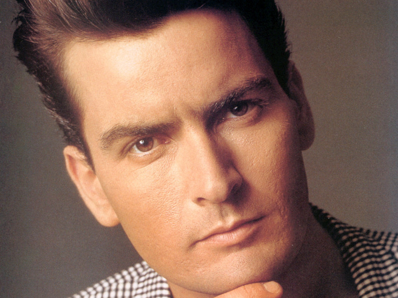 Charlie Sheen Young
