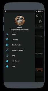 Download BBM MOD Dark OS v3.3.1.24 APK Terbaru 2017 (BBM MOD Unclone)