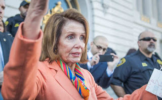 U.S. Rep. Nancy Pelosi criticized President Trump for pulling out of the Paris Climate Accord but failed to mention that part of God's creation is all human life.