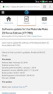 Android 8.0 Oreo Update Hits Moto Z2 Force AT&T Carrier