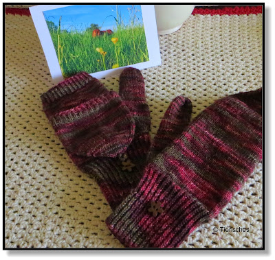Handschuhe gestrickt