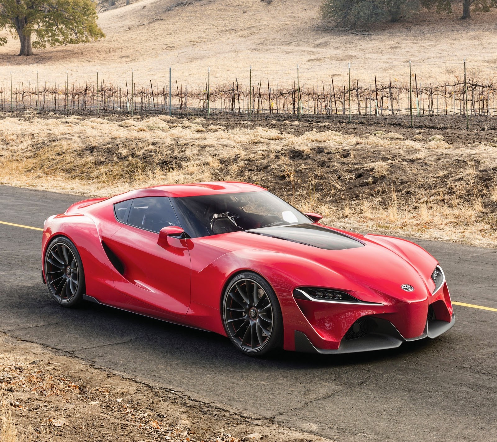 Toyota Ft 1 >> Toyota Ft 1 Concept Sets The Pace For Future Design