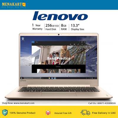 LENOVO Ideapad 13.3 Inch FHD Laptop 710S - Intel Core i7 6500U 2.5 GHz, 8GB, 256GB SSD, Intel HD, Wireless, Bluetooth, Camera, Windows 10 Home 64 Bit