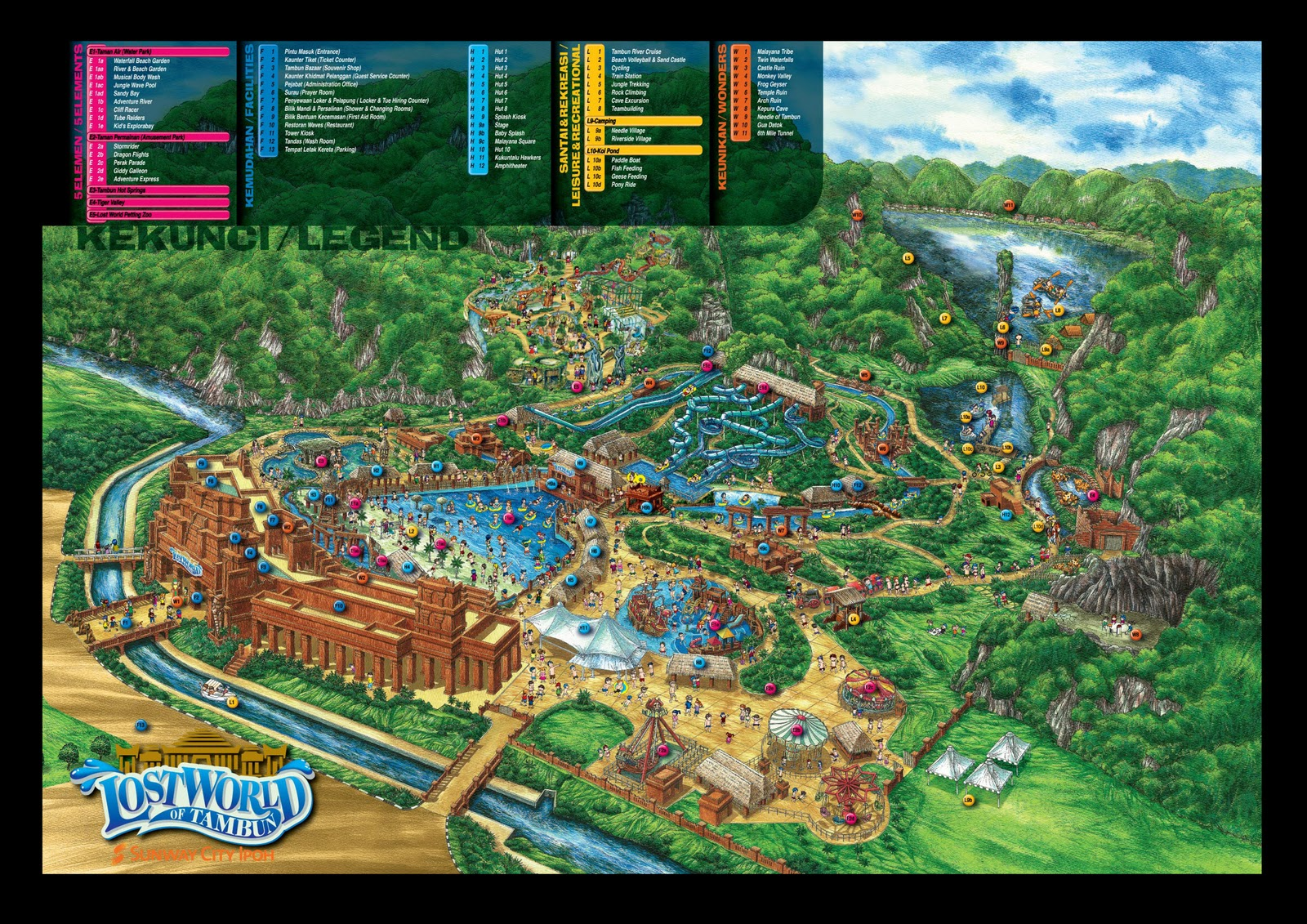 Map to lost world of tambun gumiabroncs Choice Image