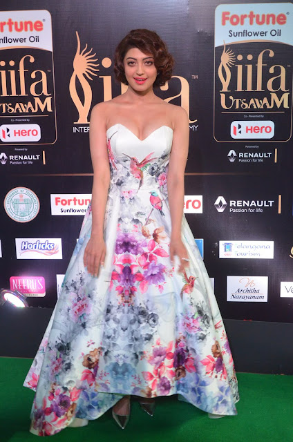 pranitha subhash hot pics at iifa 2017